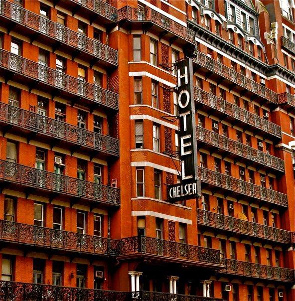6. Hotel Chelsea (New York, New York)