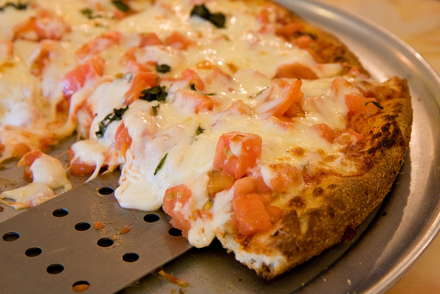 5. You'd think with so many amazing pizza joints that this is what we'd order.