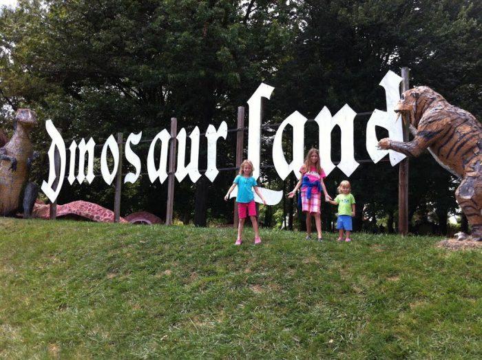 1. Dinosaur Land (White Post)