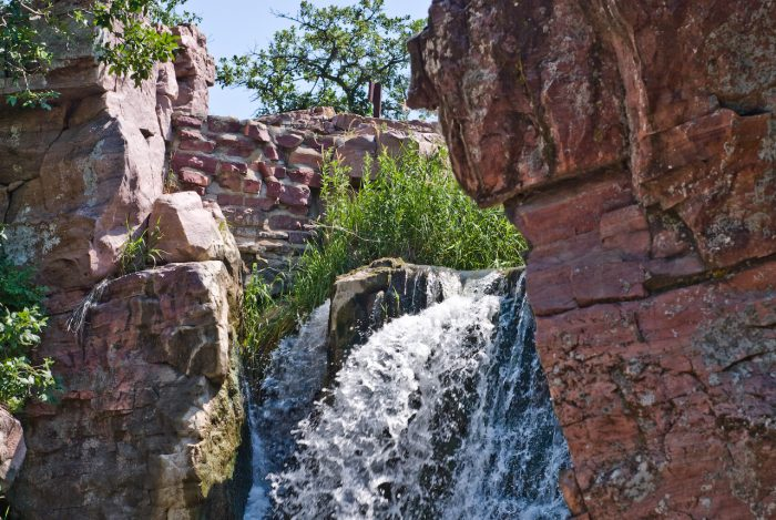 3. Winnewissa Falls in Pipestone are one of a kind, and make any visit to the National Monument that much more memorable.