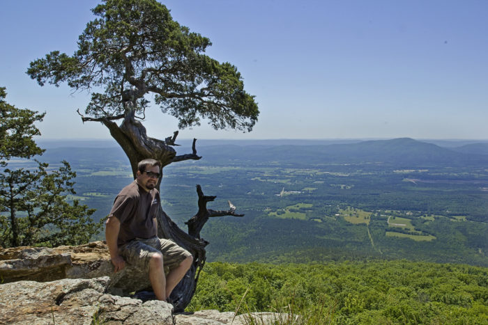15. The Ouachitas have the highest peak in Arkansas - Mount Magazine - and you haven't lived until you've gazed from the overlooks there.