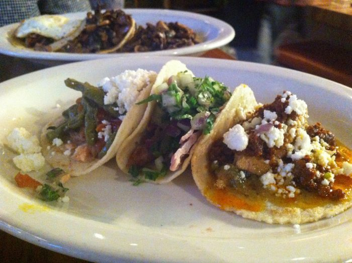 8. No matter where you go, you're guaranteed to come across some tasty Mexican food.