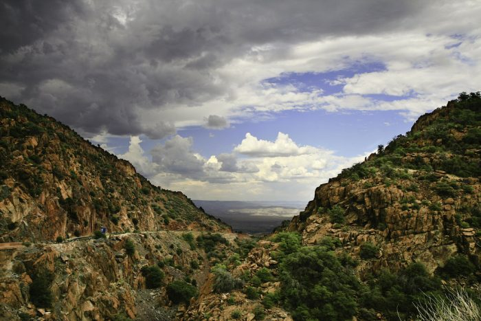 The threshold between Sedona and the Verde Valley lies here, as does mental restoration.