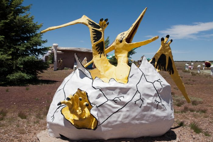 2. If you ever watched an episode of the Flinstones, a stop at Bedrock City near Valle is a must!