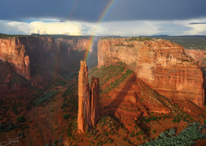 """1. The Navajo name for this area is Tséyi' (pronouned """"say-yih""""), translating to """"within the rock"""" or """"deep in the rock."""""""