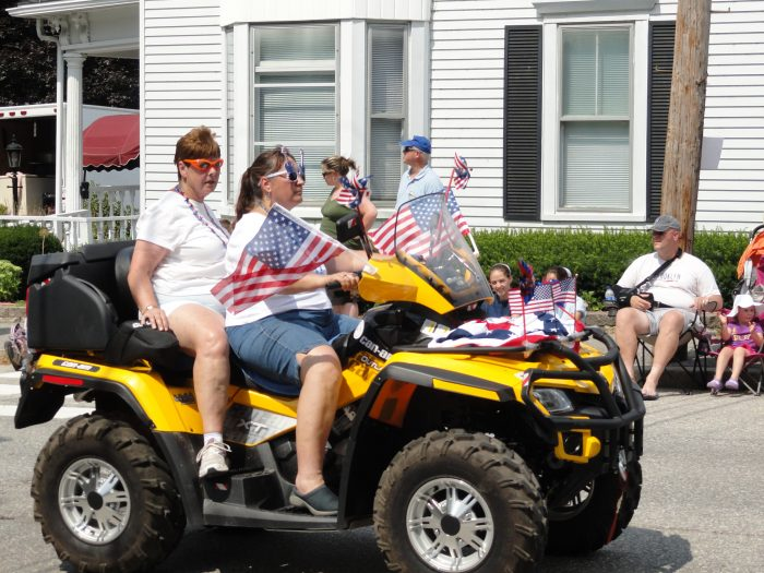 4. Because parades down the main street in small-town Maine always have you waving to people you know.