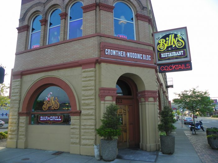 1. Billy's Bar and Grill, Aberdeen