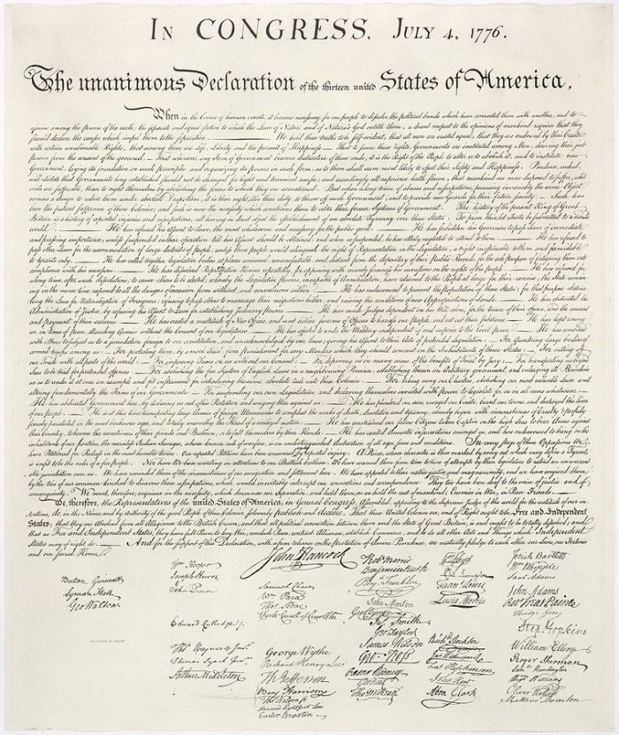 2. Five New Jersey representatives signed the Declaration of Independence.