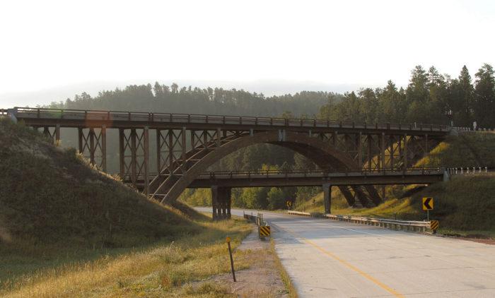 7. Overlapping bridges in the Black Hills