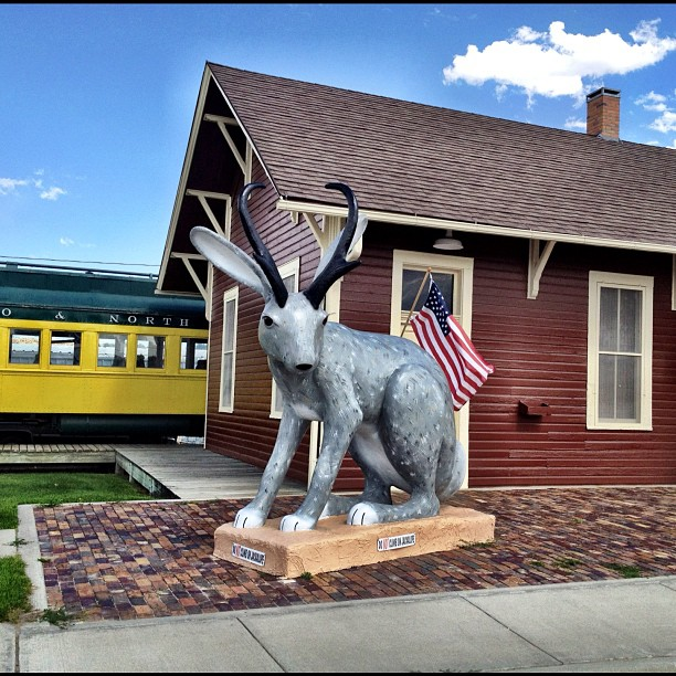 3. World's Largest Jackalope