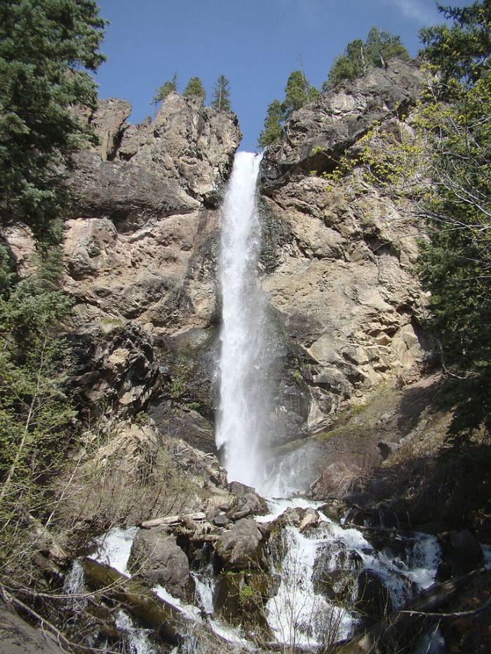 2. Treasure Falls (Pagosa Springs)