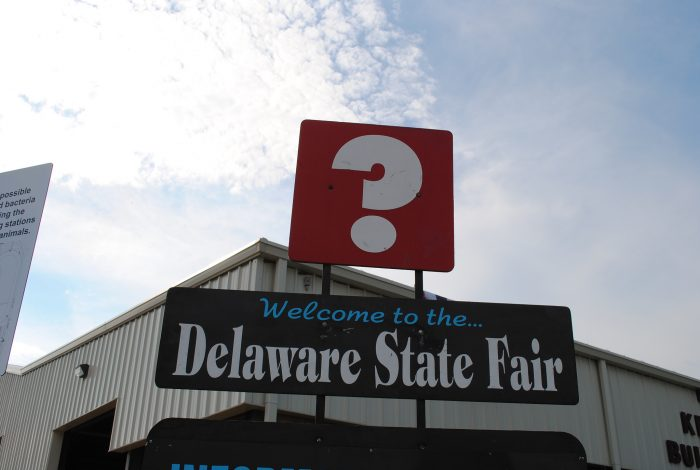 1. Delaware State Fair,  July 21-30, Harrington
