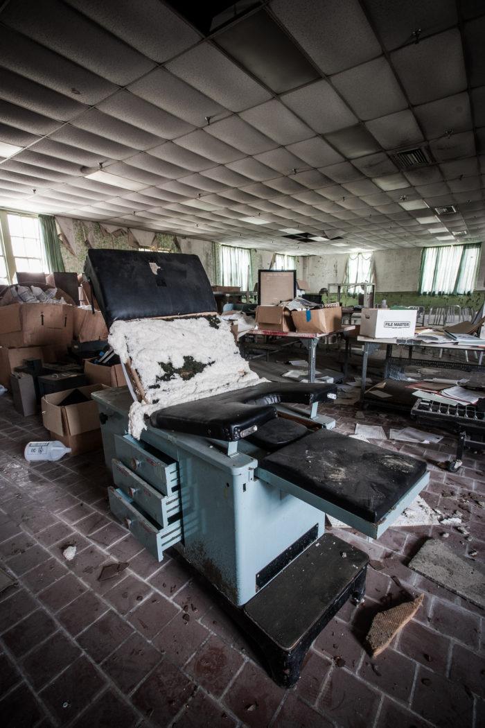 Abandoned South Carolina Lunatic Asylum