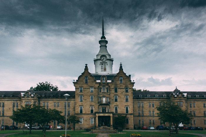 West Virginia: The Trans-Allegheny Lunatic Asylum, Weston