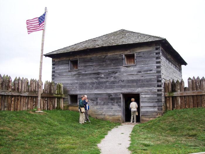 9. Fort Meigs (Perrysburg, Ohio)