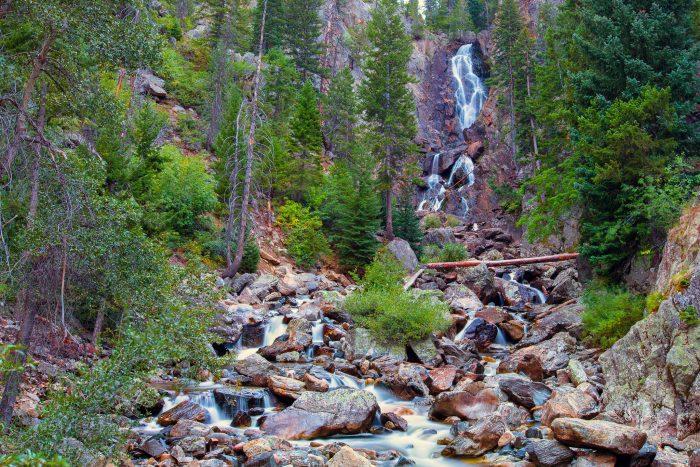 7. Fish Creek Falls (Steamboat Springs)