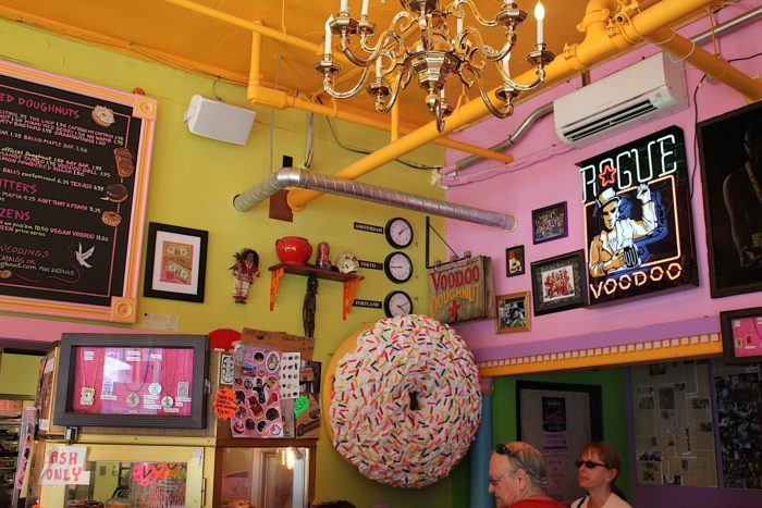 You'll be surprised and mesmerized by all of the doughnut shop's little quirks (not to mention the Voodoo theme). Fact: they also perform legal wedding ceremonies!