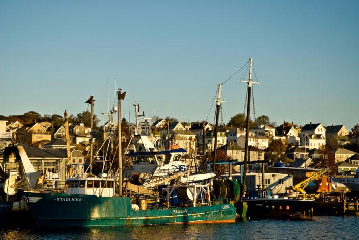 8. Gloucester Harbor