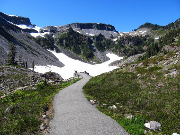 5. Bagley Lakes Trail, near Mount Baker
