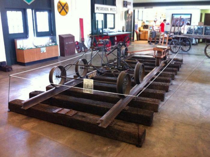 8. Railroad Museum (1805 Front Street, Meridian)