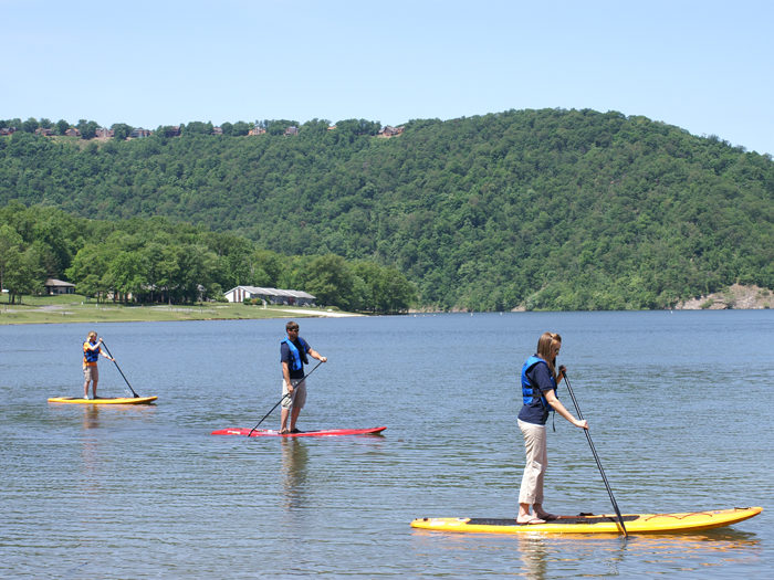 And wile the day away on Lake Raystown.