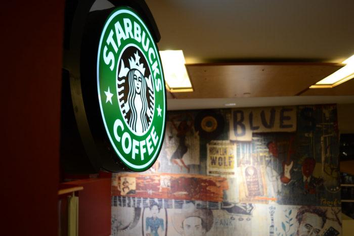 8. Choose Starbucks.