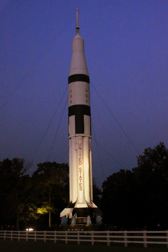 2. Saturn 1B Rocket at Alabama Welcome Center - Elkmont