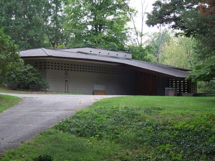 7. Erling P. Brauner House (2527 Arrowhead Road, Okemos)