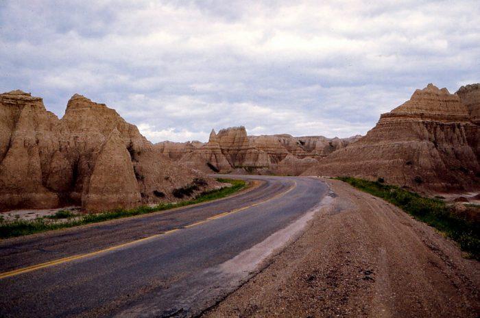 4. Road through the Badlands, 1975