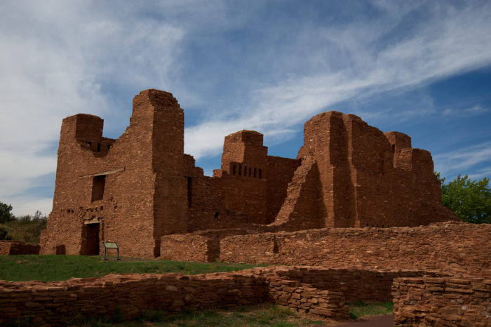 11. Quarai Mission Ruins, New Mexico