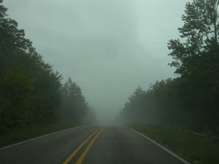14.The Talimena Scenic Drive is absolutely breathtaking, even if it does take you to Oklahoma.