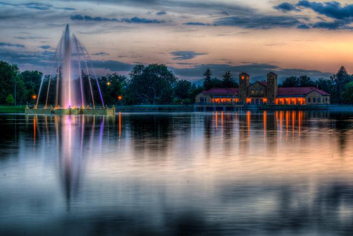 14. City Park at dusk (Denver)