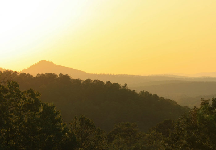 1. In the Ouachitas, you'll find incredible views.