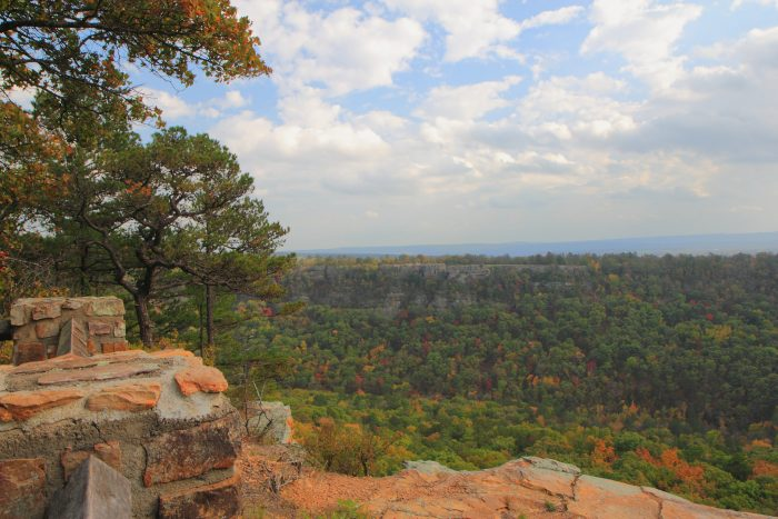 6. The views from Petit Jean Mountain are breathtaking.