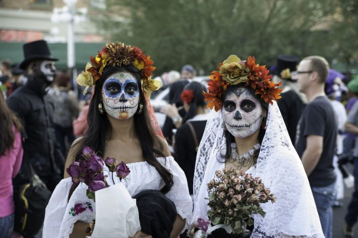 4. Participate in (or watch) the Tucson All Souls Procession.
