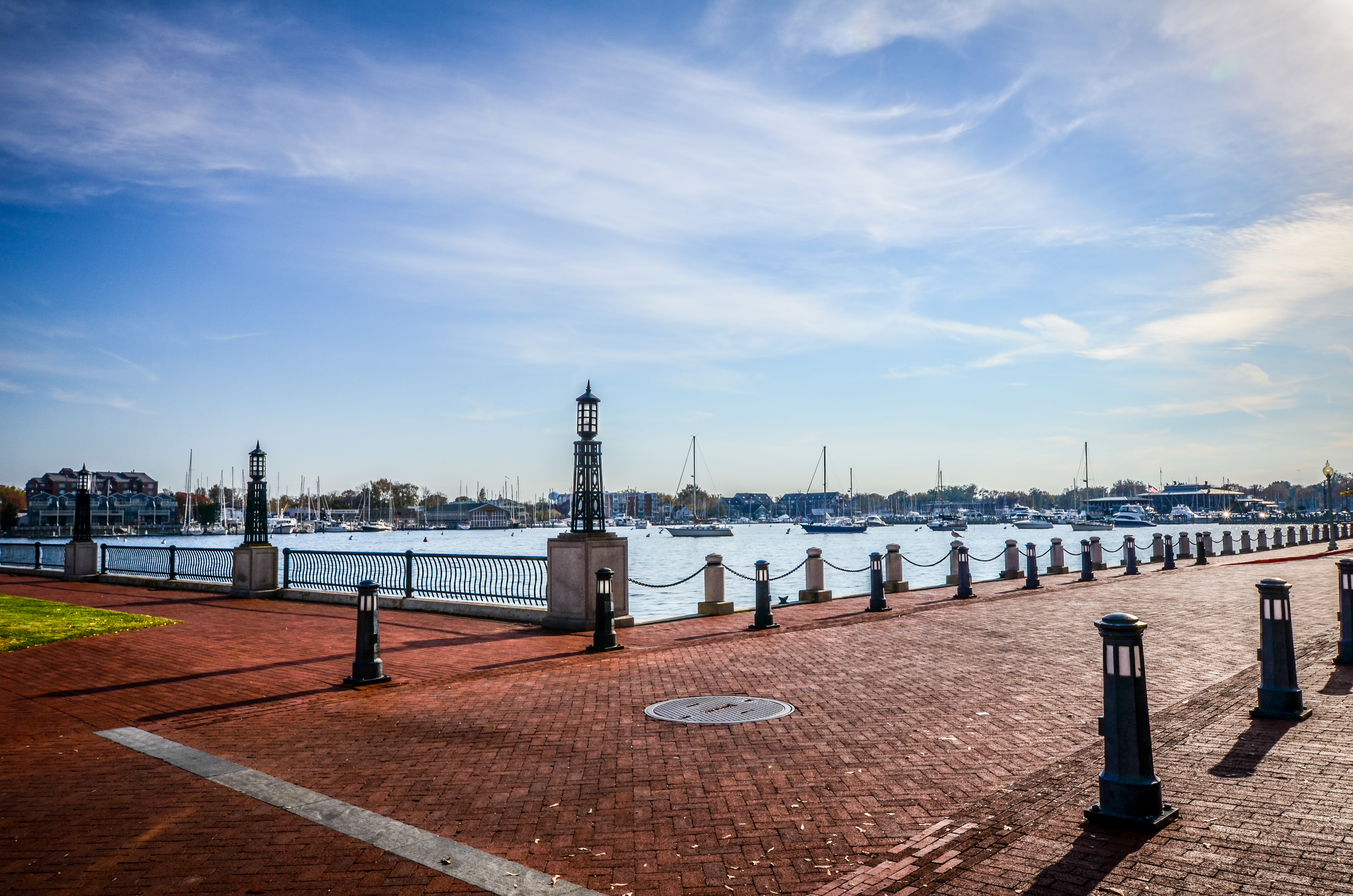 7 Towns In Maryland With Brick And Cobblestone Streets