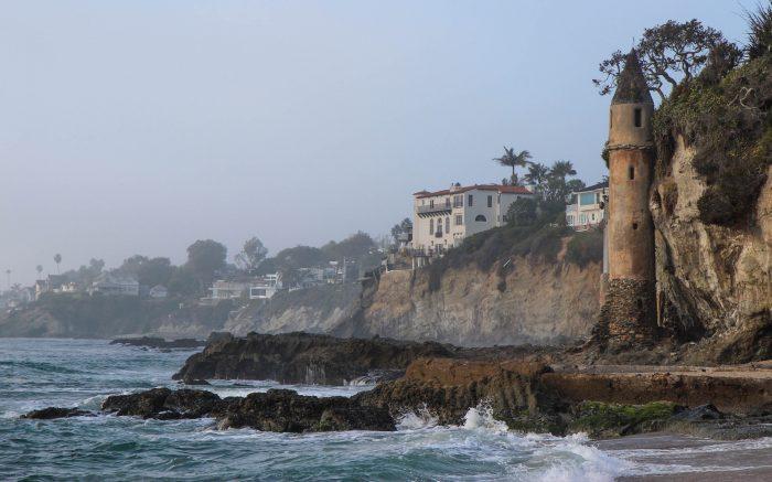 1. Victoria Beach Pirate Tower - Laguna Beach