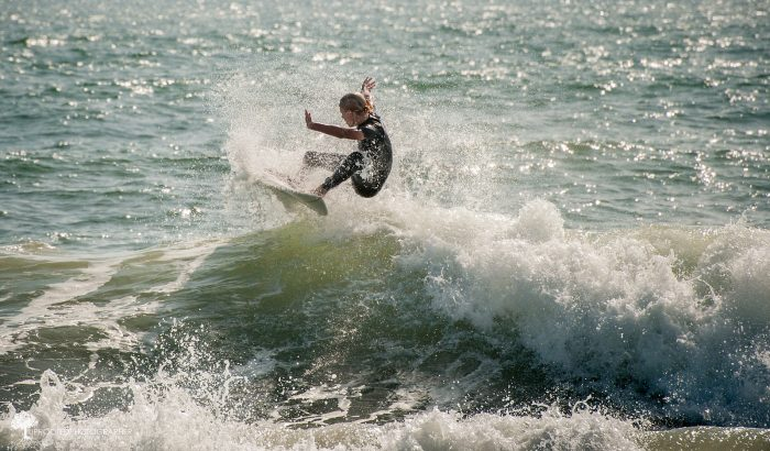 8. Catch some serious waves off the coast of Cape Hatteras.