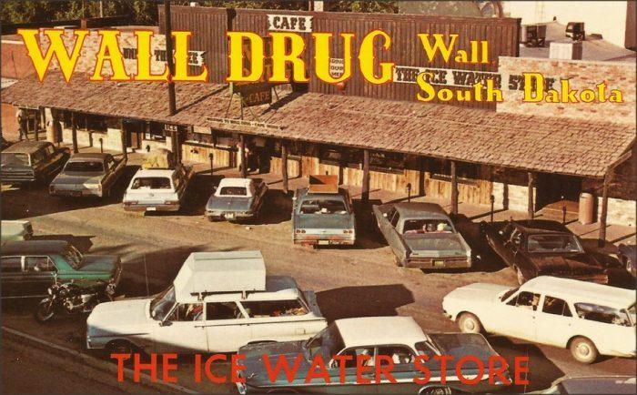 5. Wall Drug postcard, 1966