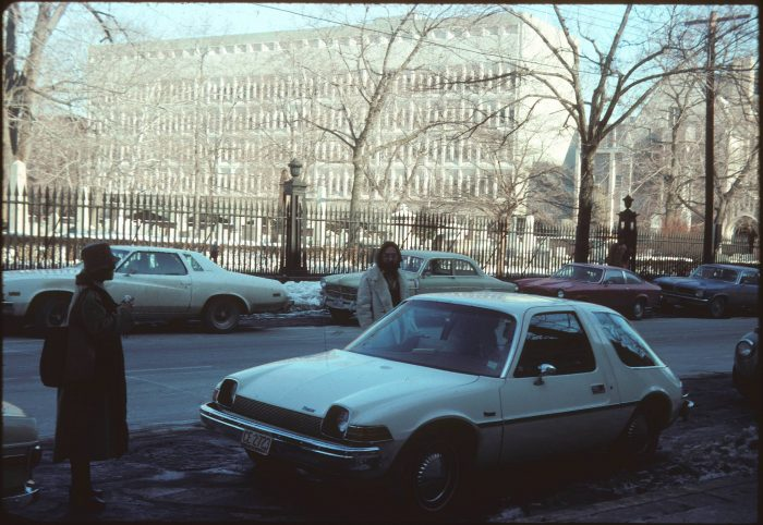 10. Downtown New Haven in 1977, just across from the Office of the Dean of Yale.