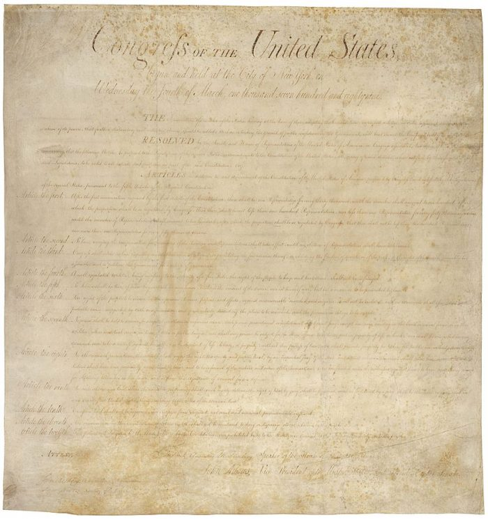 4. And we were the FIRST state to ratify the Bill of Rights.
