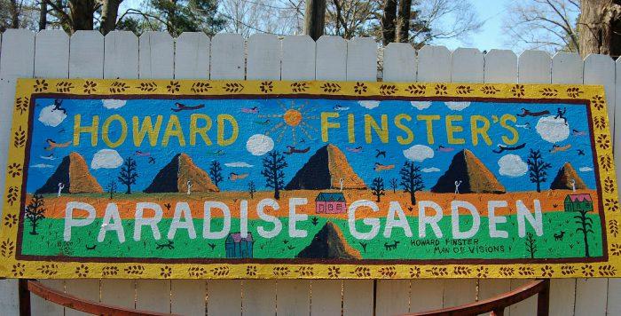 3. Howard Finster's Paradise Garden