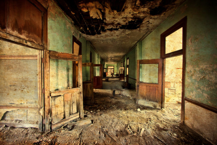 Between 2001 and 2011, about two percent of American schools shut down each year.