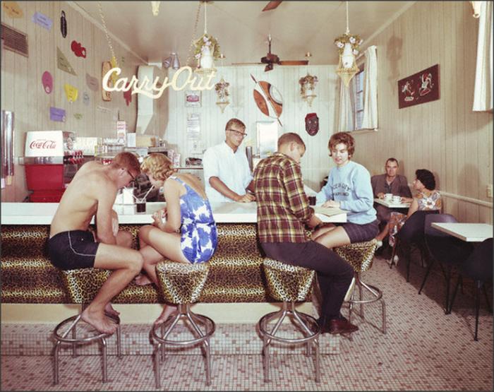 2. The Safari Hotel coffee shop in Ocean City, 1960s.