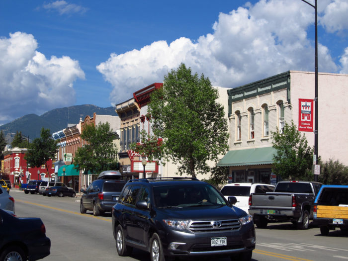 1. Buena Vista (Population: 2,736)
