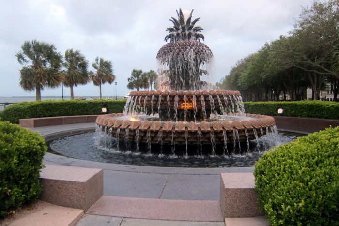 We love all the city parks in historic Charleston, especially Waterfront Park.