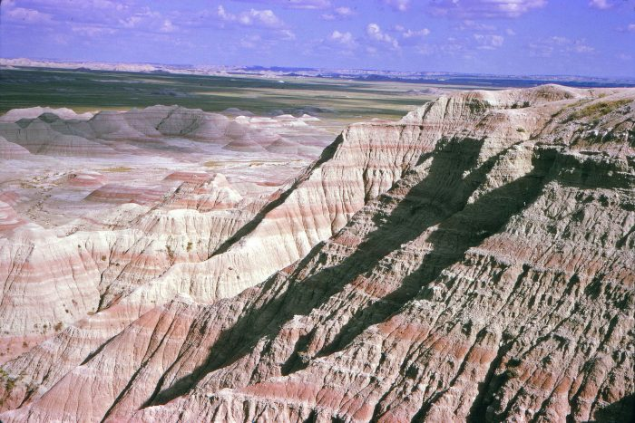 3. A tourist's picture of the badlands, 1965