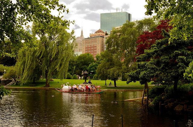 1. The Boston Public Gardens