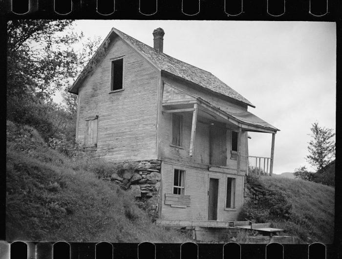 1.  Old farmhouse near Lowell.