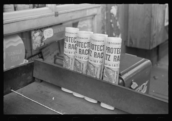 13. Newspapers for sale in New York City. If only we could read this 1939 newspaper today.
